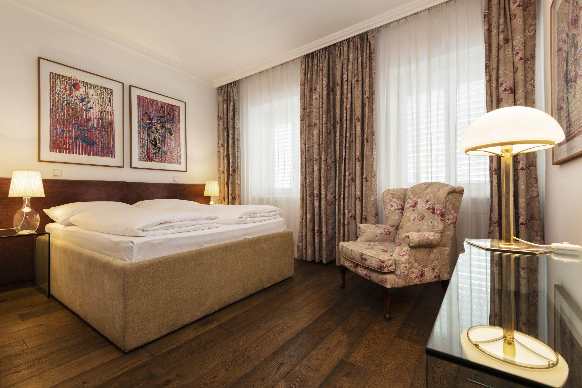 Hotel KUNSThof Zimmer 205